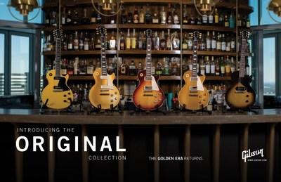 Gibson Announces NEW Original, Modern and Custom Shop