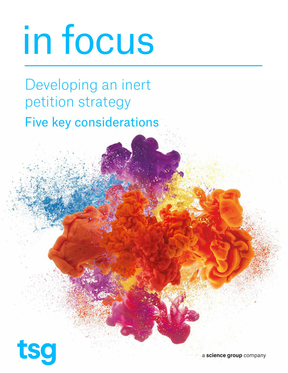 Whitepaper: Developing an inert petition strategy