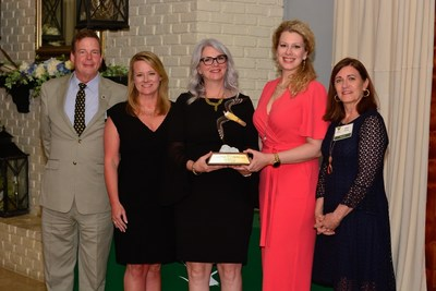 CITGO representatives Missy Amidon, Shannon McNary and April Andrews with Secretary of the Louisiana Department of Natural Resources Tom Harris and Louisiana Wildlife Federation sponsor Allyn Dukes.