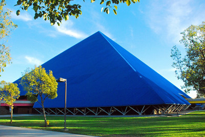Lifetime Achievement Award Winner, The Walter Pyramid, submitted by Valmont Calwest Galvanizing