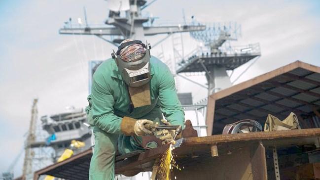 Navy-Commercial Welder