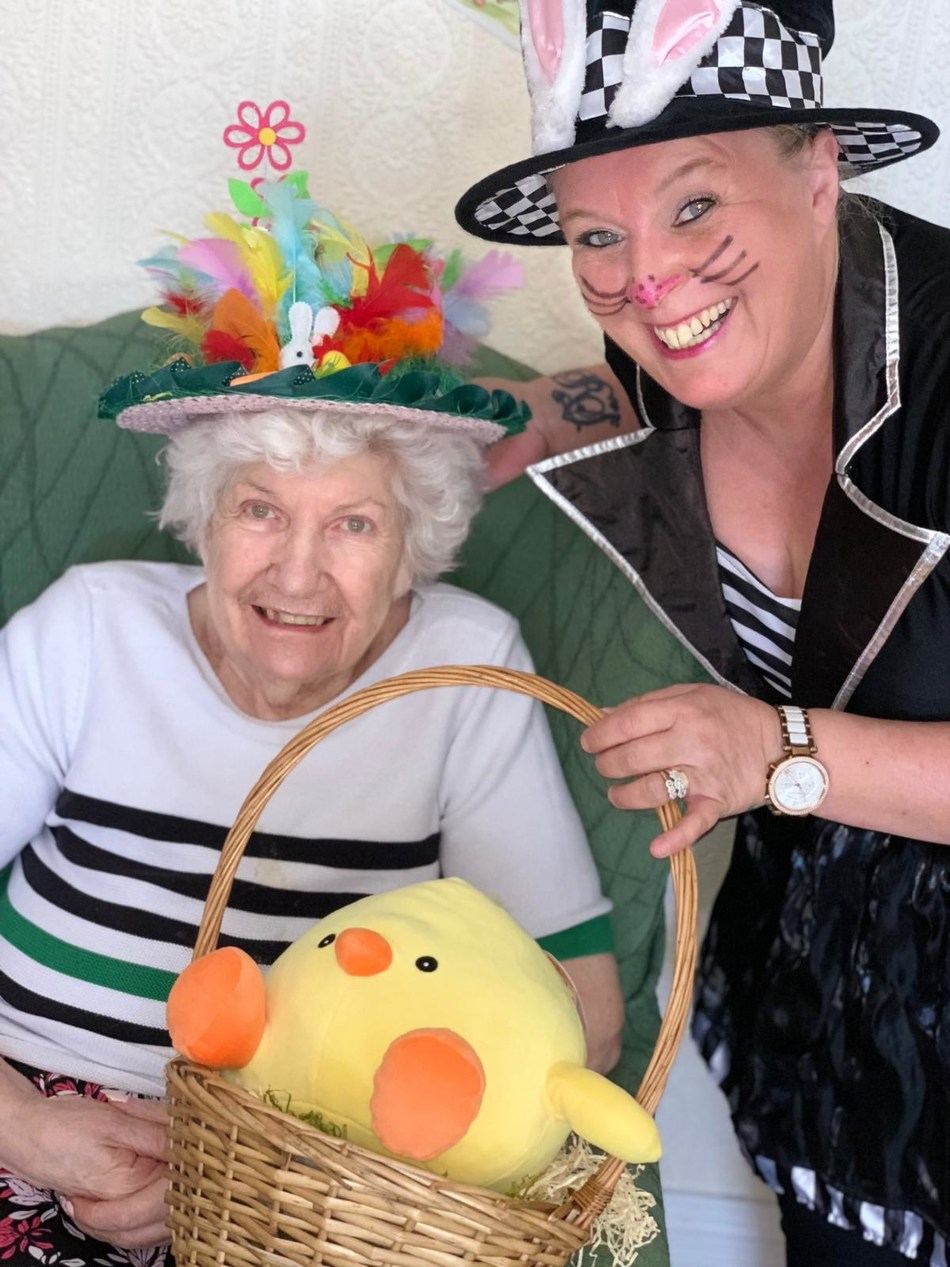 RB Care Homes' Butterhill Care Home Celebrates Easter with Families, Shares Positive Energy