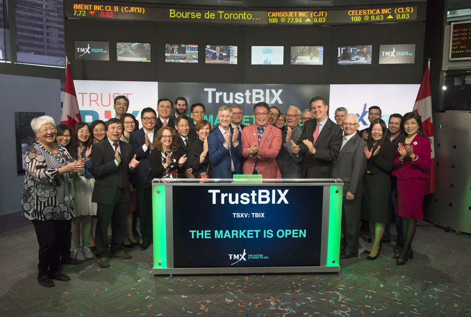 TrustBIX Inc. Opens the Market (CNW Group/TMX Group Limited)