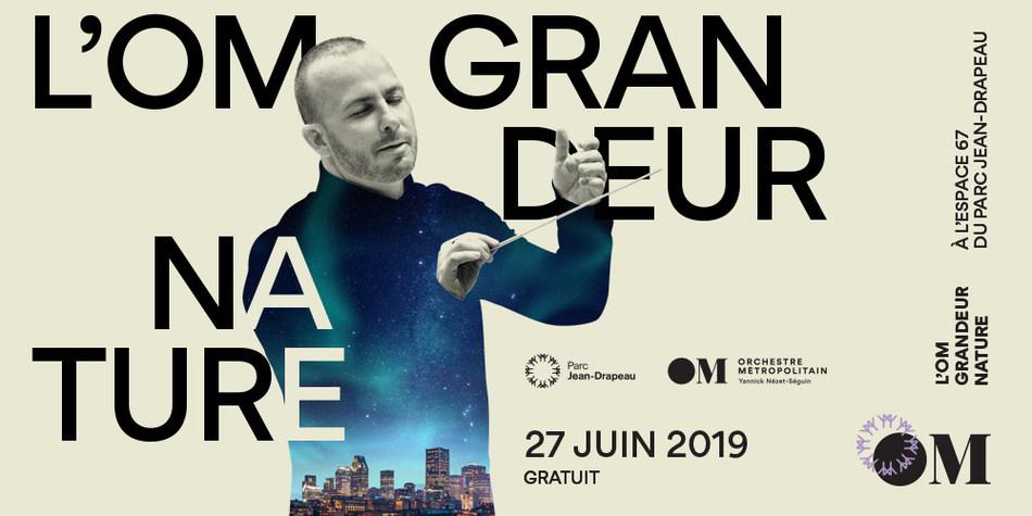 L'OM Grandeur nature - A breathtaking free concert marking the inauguration of Parc Jean-Drapeau's brand new Espace 67 (CNW Group/SOCIETE DU PARC JEAN-DRAPEAU)