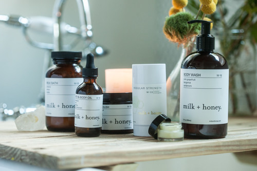 Emil Capital Partners advances growth of milk + honey's premiere spa and lifestyle products