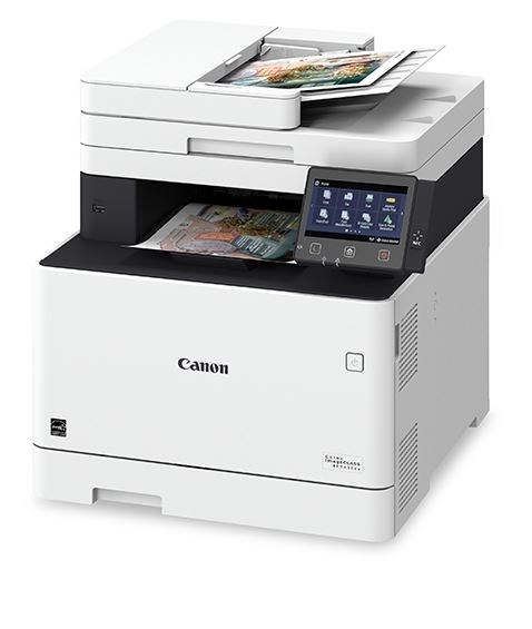 Canon Color imageCLASS MFP743Cdw with Color Outputs