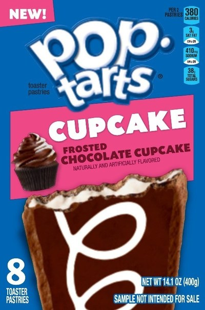 This June, Pop-Tarts is offering two tasty twists on a popular dessert: Frosted Chocolate Cupcake and Frosted Confetti Cupcake.