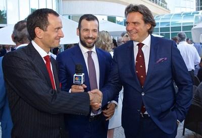 Giuseppe Ambrosio, Carmelo Caggia (CNBC) & Anthony Ritossa