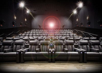 Recliner auditorium (CNW Group/Landmark Cinemas)