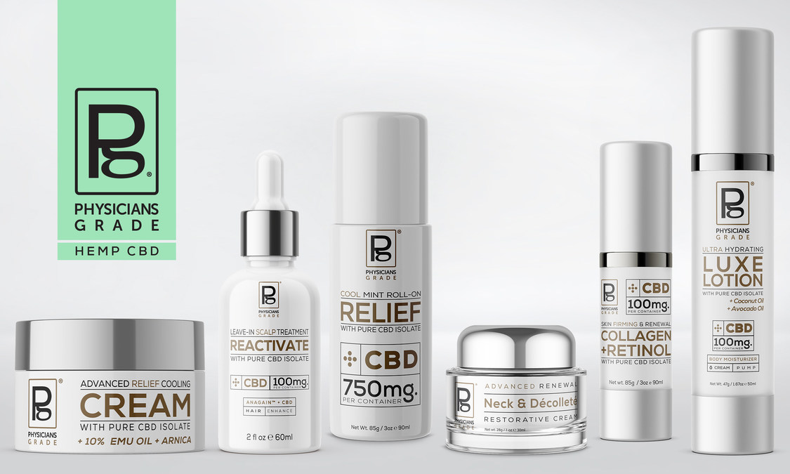 Physician's Grade Brand CBD Products to Launch in select GNC