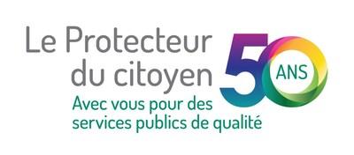 logo du 50e Protecteur du citoyen (Groupe CNW/Protecteur du citoyen)