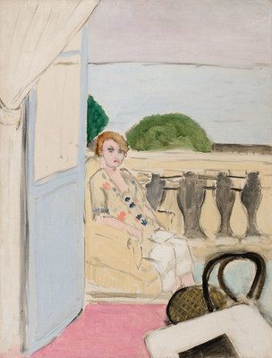 Henri Matisse, one of the most important artists of all time, leads Heffel's spring auction with Femme assise sur un balcon (est. $3,800,000 – 5,800,000). (CNW Group/Heffel Fine Art Auction House)