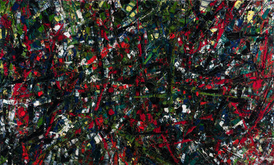 Jean Paul Riopelle shines among the Heffel spring collection with eight works on offer, including the museum-quality masterpiece, Incandescence (est. $1,500,000 – 2,500,000) (CNW Group/Heffel Fine Art Auction House)