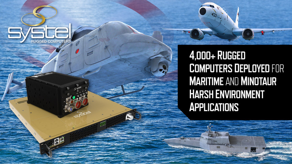 Systel To Showcase Rugged Computing Solutions At Sea-Air-Space Exposition