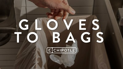 Chipotle uses innovation to reduce restaurant waste, upcycling plastic gloves to plastic trash bags in a new pilot program across Portland and Sacramento Chipotle restaurants.