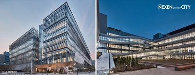 Vista panorámica y vista del patio central de 'THE NEXEN univerCITY' (Fuente (C)L2 ARCHIVE) (PRNewsfoto/Nexen Tire)