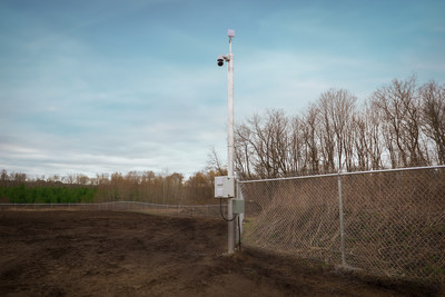 All security measures at the site are now ready and the final evidence package is being submitted to Health Canada. (CNW Group/Aleafia Health Inc.)