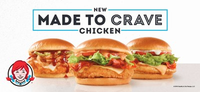 Wendy's Made to Crave is now offering three new chicken sandwiches that are guaranteed to satisfy those craveable taste buds. Introducing the Avocado BLT, S'Awesome Bacon Chicken and Barbeque Chicken, each individually crafted and anything but basic.