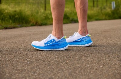 The all-new HOKA ONE ONE Carbon X shoe