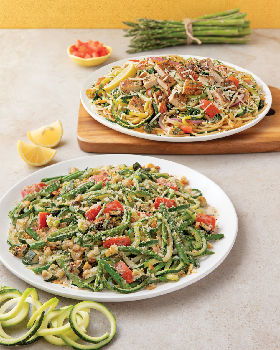 Noodles & Company expands its lighter menu offerings with two new Zoodles-based menu items: Zucchini & Asparagus with Lemon Sauce and Zucchetti in White Wine Garlic Sauce with Balsamic Chicken.