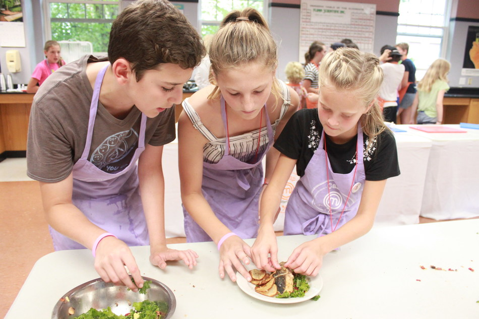 CAMP MASTERCHEF invites kids/teens from all culinary skill levels to join their overnight camps, offering an enriching and immersive culinary experience with opportunities for campers to hear first-hand what it it's like to be on MASTERCHEF and MASTERCHEF JUNIOR, get hands-on cooking lessons, enjoy outdoor activities, and more. Credit: Camp MasterChef