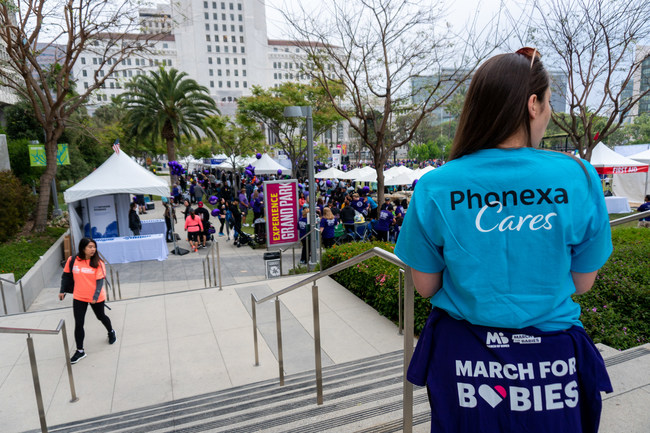 Phonexa team member participates in March for Babies.