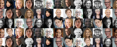 Seventeen new cultural ambassadors honored by the Ordre des arts et des lettres du Québec. (CNW Group/Conseil des arts et des lettres du Québec)