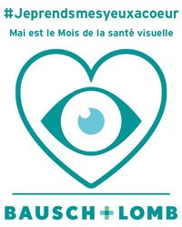 #Jeprendsmesyeuxacoeur (Groupe CNW/Bausch + Lomb)