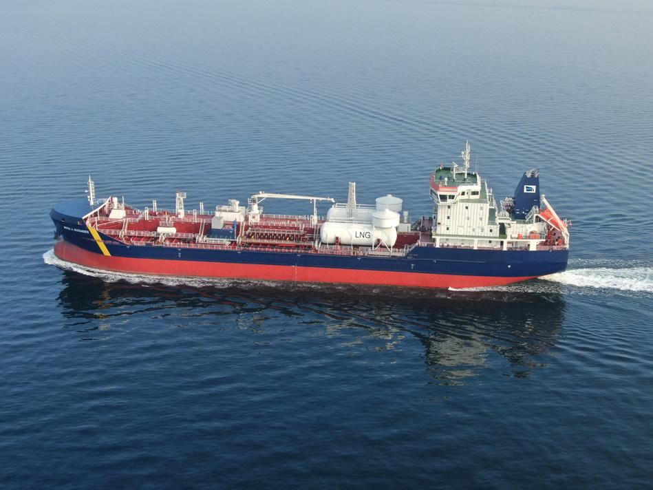 M/T Rossi A. Desgagnés, Dual-Fuel / LNG Oil-Chemical Tanker (CNW Group/Groupe Desgagnés inc.)