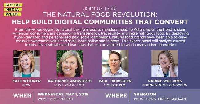 The Natural Food Revolution: Help Build Digital Communities That Convert