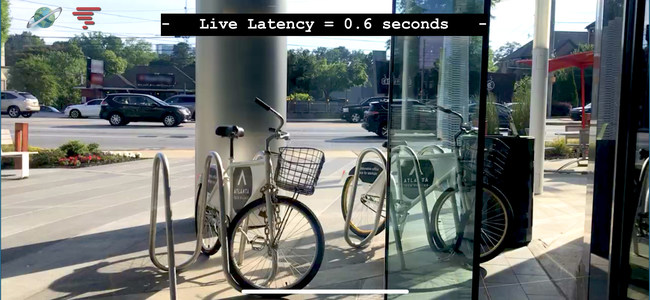 Live capture of the Streaming Global live-stream with 0.6 second latency.