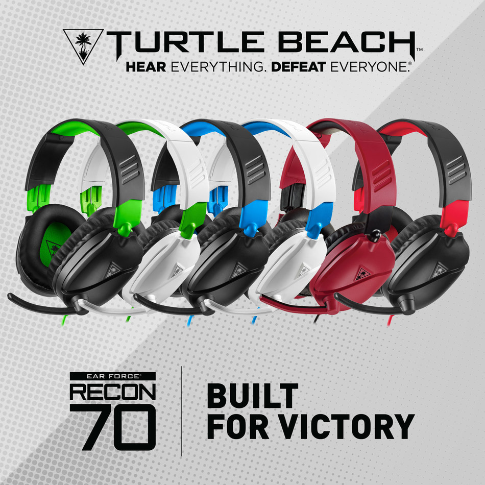 Turtle Beach's All-New Recon 70 Series Gaming Headsets For