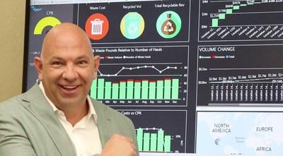 Rick Perez, CEO de Avangard Innovative, ha creado el Fitbit, el iPhone y el Google Home de la industria de los desechos y el reciclaje.