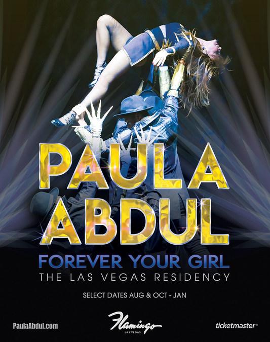 Paula Abdul: Forever Your Girl The Las Vegas Residency Announces