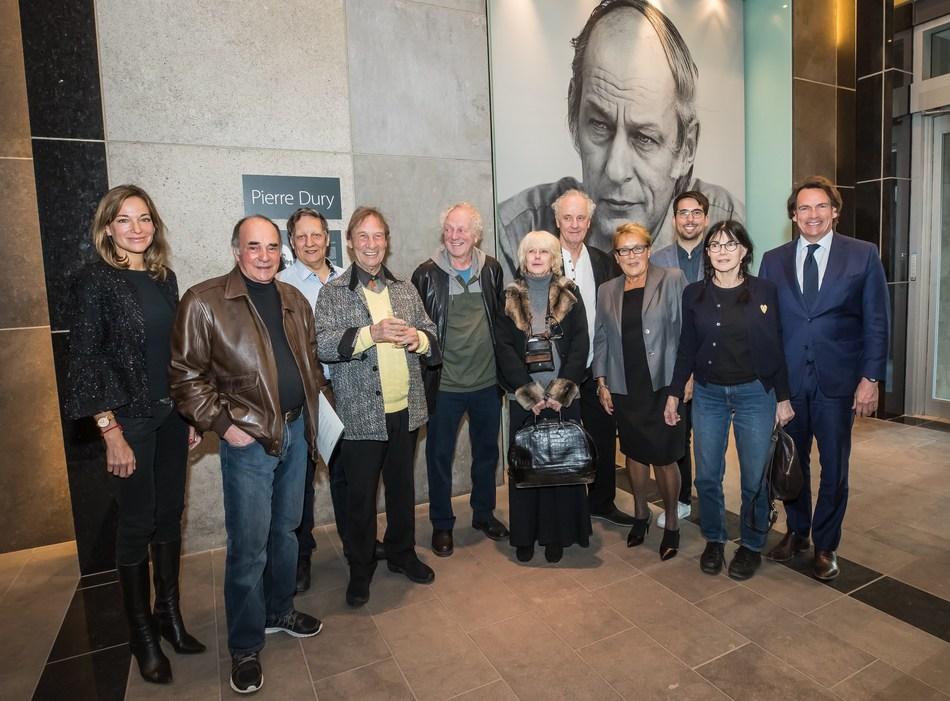 Pascale Bourbeau, Pierre Calvé, Robert Lepage, Jean-Pierre Ferland, Pierre Létourneau, Mouff, Pierre Dury, Pauline Marois, Jean B. Péladeau, Carole Laure and Pierre Karl Péladeau.
