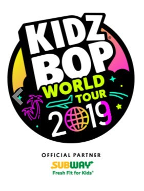 Subway® Restaurants offer fans a chance to win a one-of-a-kind VIP experience to the KIDZ BOP World Tour 2019.