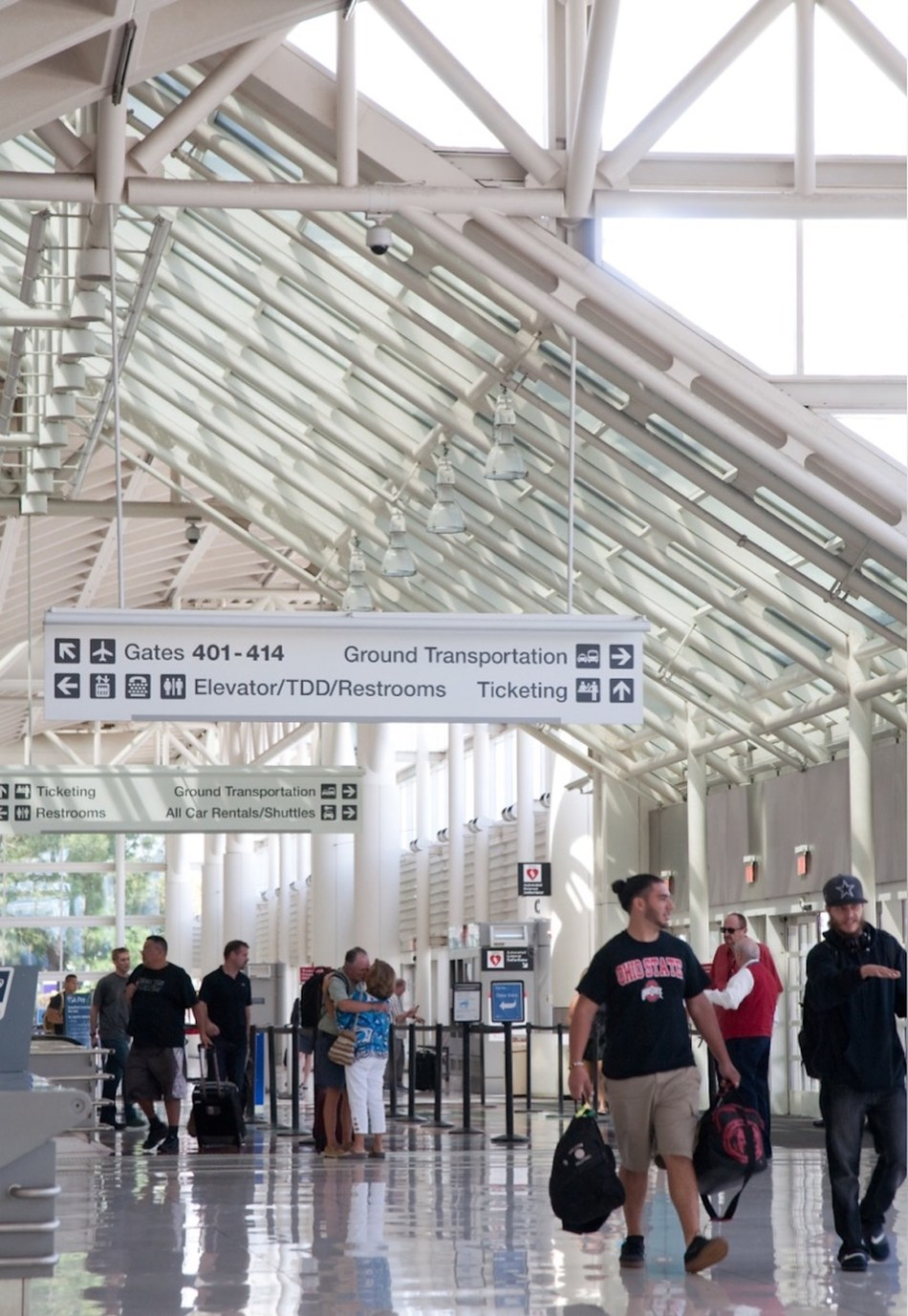 S&P Global Ratings has revised its outlook of the Ontario International Airport Authority to positive from stable and affirmed its long-term rating of 'A-' for the Inland Empire airport's revenue bonds.