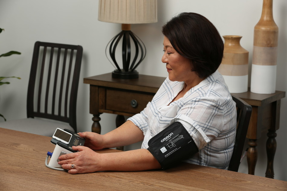 Omron Healthcare, Inc., the number one doctor and pharmacist recommended blood pressure brand, today launched Complete™, the first blood pressure monitor with EKG capability in a single device, for retail sale in the U.S. online at OmronHealthcare.com