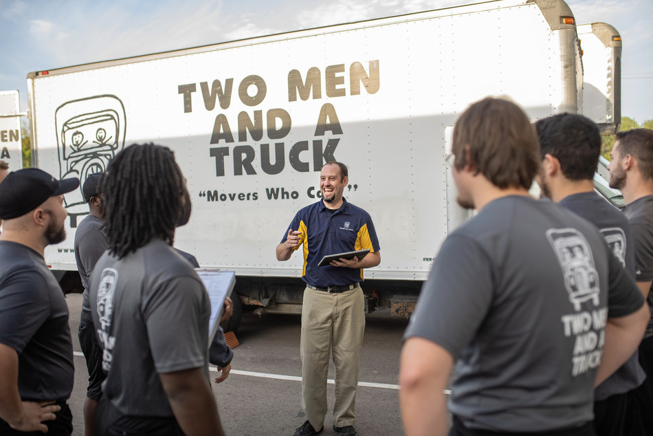 TWO MEN AND A TRUCK offers tips to avoid moving scams for national moving month.