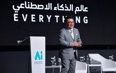 Tencent's Seng Yee Lau at AI Everything Summit in Dubai