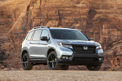 Sales of Honda's all-new 2019 Passport SUV helped push Honda trucks into positive territory as American Honda reports April 2019 sales results. (PRNewsfoto/American Honda Motor Co., Inc.)