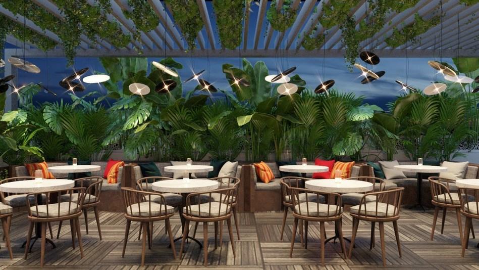 New Motorino Pizzeria in Dubai (interior shot) (PRNewsfoto/JA Resorts & Hotels)