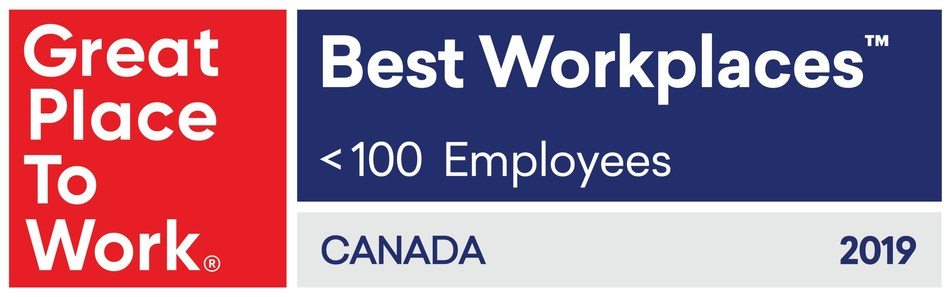 Great Place to Work® Best Workplaces™ Canada 2019 (CNW Group/Equium Group)