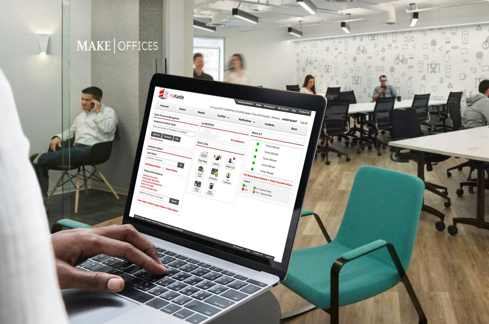 MakeOffices' Community Managers can manage access rights and space usage of coworking clients across multiple locations using Kastle Systems cloud-based Access Control platform.
