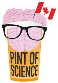 Pint of Science Canada logo (CNW Group/Pint of Science Canada)