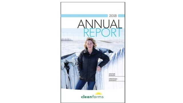 Cleanfarms Annual Report 2018 (CNW Group/CleanFARMS Inc.)