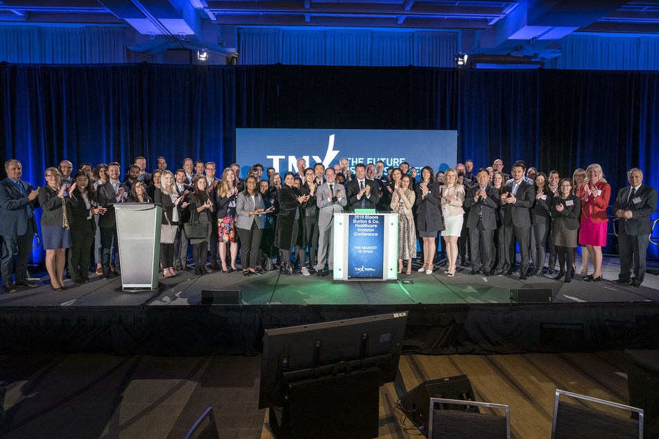 2019 Bloom Burton & Co. Healthcare Investor Conference Opens the Market (CNW Group/TMX Group Limited)