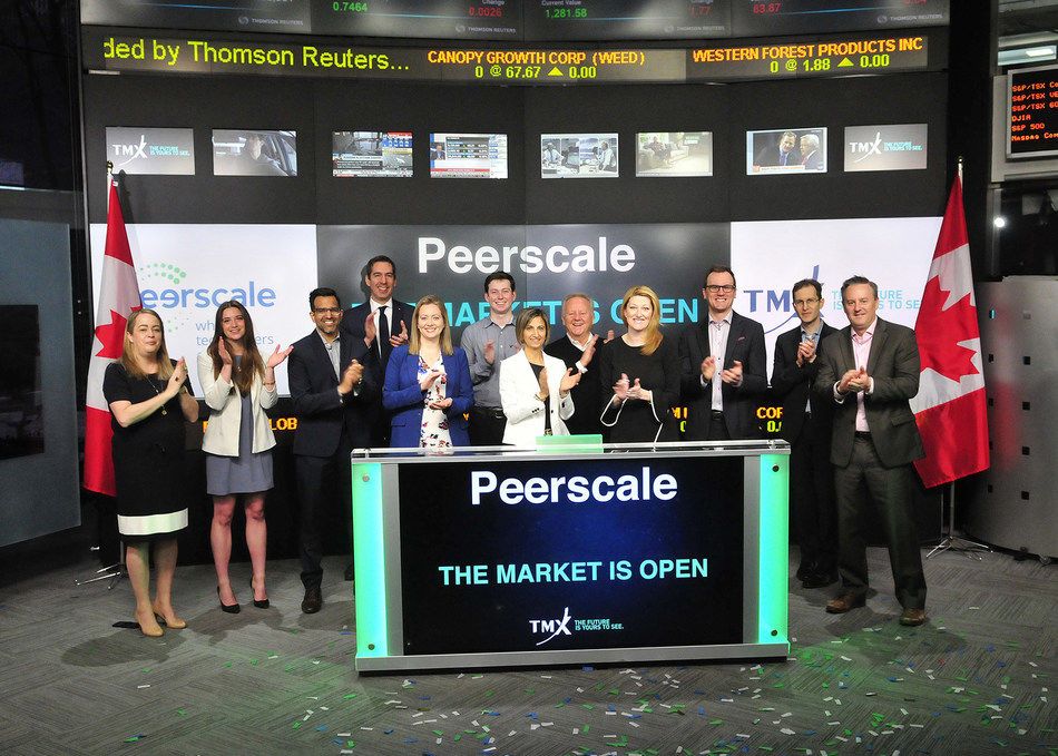 Peerscale Opens the Market (CNW Group/TMX Group Limited)