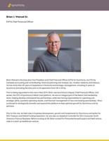 Brian Wenzel biography