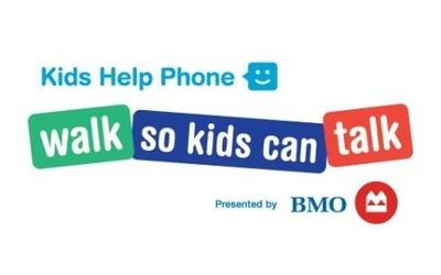Kids Help Phone's Walk so Kids Can Talk presented by BMO (CNW Group/BMO Financial Group)